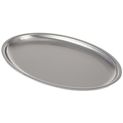 JB Prince Stainless Steel Oval Sizzle Platter (Stainless Steel Sizzle Platters compare prices)