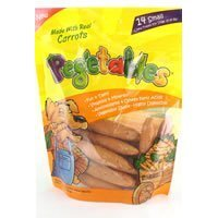 Pegetables Sm Dog Treats Carrot 8.4Oz