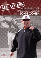 John Cohen: All Access Mississippi State Baseball Practice (DVD) by Championship Productions