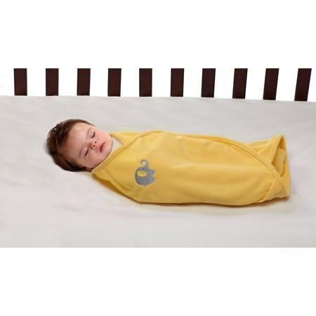 Baby Swaddler - Yellow - 1
