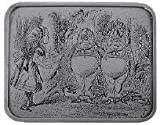 Tweedle Dee Alice In Wonderland Belt Buckle