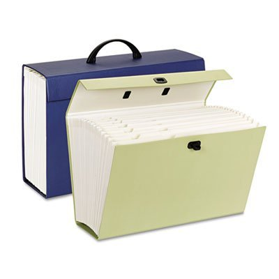 after bills are paid, they get filed away in one of these.  We have one for every year.  Makes tax prep SO much easier