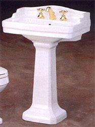 Buy Essex Pedestal Lavatory Sink - 24 x 18 - 4