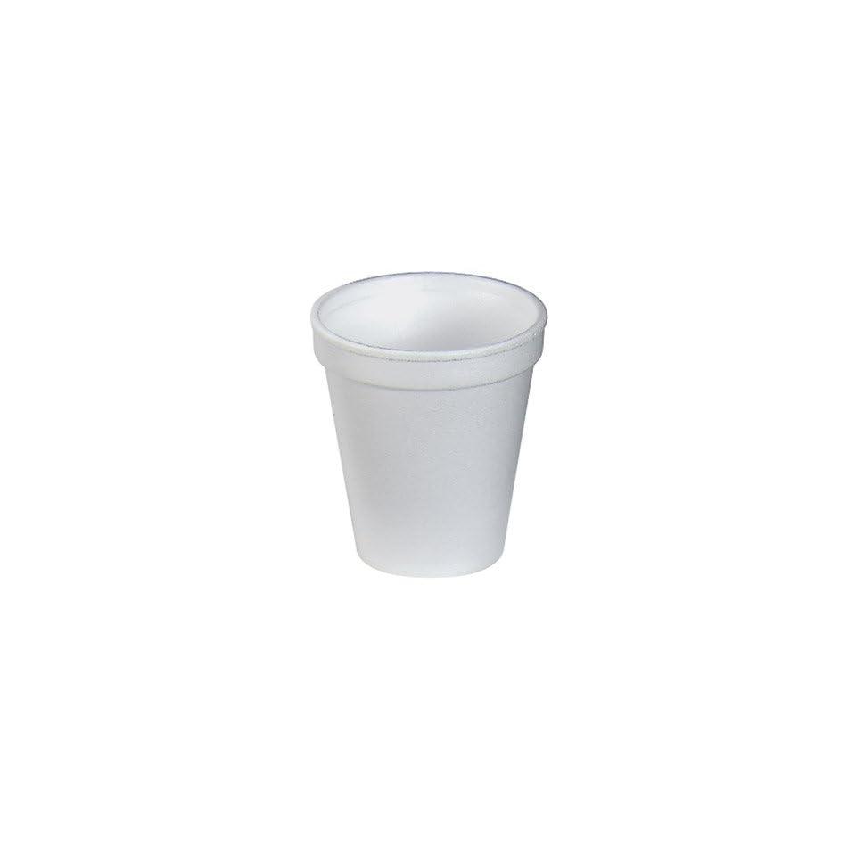Styrofoam Hot/Cold Drink Cups, 6 Ounce, 50/Bag, 20 Bags/Carton WCP6C6W
