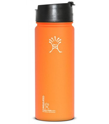 Hydro Flask Insulated Coffee, Tea And Water Bottle - 18 Oz Orange Zest front-868542