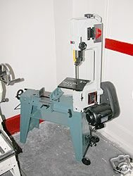 ACCURA 4 x 6 metal cutting horizontal/vertical band saw