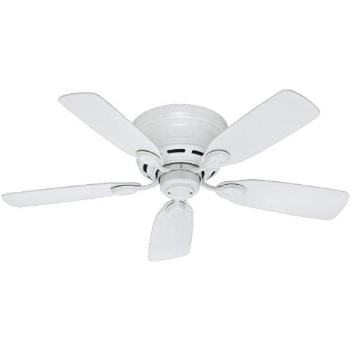 hunter-51059-low-profile-iv-5-blade-ceiling-fan-42-inch-white