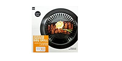 Smokeless Indoor Barbecue Grill (Available in a pack of 1) by Handy Helpers
