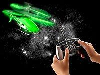"""Simulus Nachleuchtender 3,5-Kanal-Hubschrauber """"GH-324.ghost"""", 2,4 GHz - 5"""