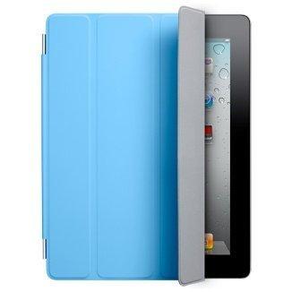 【アップル 純正】Apple iPad2 & The New iPad (第3世代) Smart Cover スマートカバー ポリウレタン製 【 ブルー Light Blue 】
