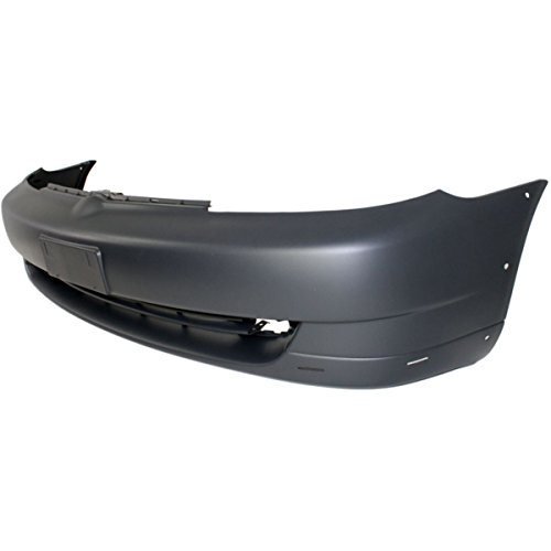 Bumper Grille For 2003-2005 Toyota Echo Center Black Plastic