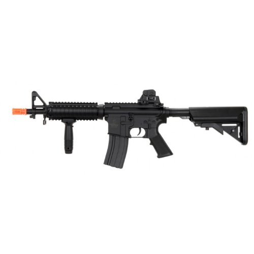 lancer tactical lt-02b mk18 electric airsoft gun metal gear fps-400, full metal gearbox, high capacity magazine(Airsoft Gun) (Airsoft Guns Fps 400 compare prices)