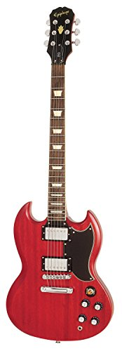 Epiphone Worn Series G-400 Electric Guitar - Worn Cherry