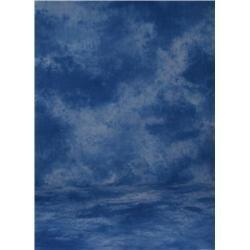 Promaster Cloud Pattern Muslin Background 10x12 Blue Cloud