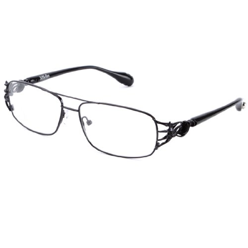 Affliction OMINOUS Designer Eyeglasses - Black/Black