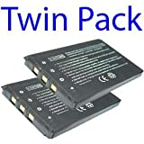 Premium Quality -Twin Pack- 2x Casio NP-20/NP-20DBA Compatible Digital Camera Battery For CASIO EXILIM EX-E770, EX-S600EO, EX-S880, EX-S2 by I-Luv-Life