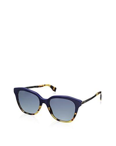 Fendi Women's 0089/S Sunglasses, Blue Havana Gold As You See
