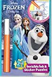 Disneys Frozen Invisible Ink Coloring Book