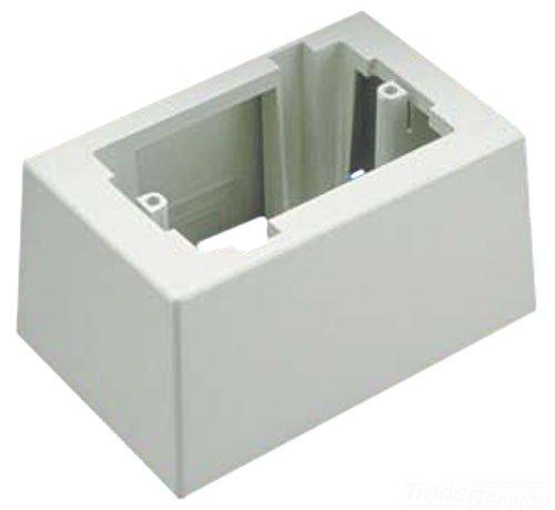 Panduit Jb1Diw-A 1-Gang Deep Outlet Box, International White