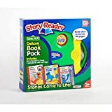 Story Reader 2.0 with 3-Book Sesame Street Library: Elmo, Cookie Monster, Grover