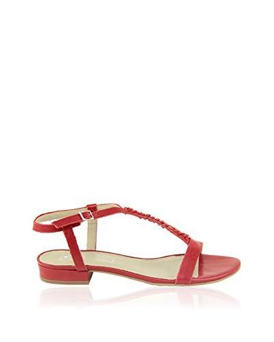 Eye Sandalo Con Tacco [Rosso]