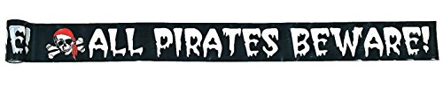 Pirate Decoration Boundary Tape - Party Decorations & Wall Decorations