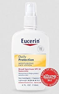 EUCERIN DAILY PROTECTION SPF 30 MOISTURIZING FACE LOTION (formerly everyday protection)