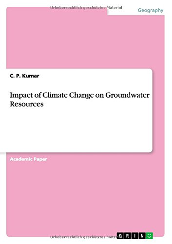 Impact of Climate Change on Groundwater Resources