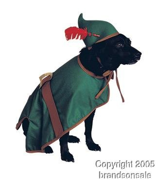 Pet Robin Hood Dog Costume For Large Dogs
