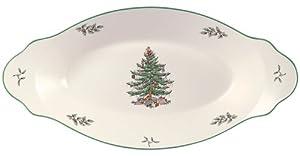 Spode Christmas Tree Bread Tray