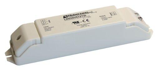 Robertson 3P30035 Ld020V012Tia Led Driver, 1-20 Watt, 100-240Vac Input, 80-1670 Ma Constant Voltage, 12Vdc Output, High Power Factor