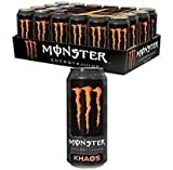 Monster Orange Energy Drink, Monster Khaos Energy, 16 OZ. / 24PK