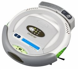 Infinuvo CleanMate QQ-2 LT Robotic Vacuum Cleaner with Scheduler, Home Charing Base & LCD Display
