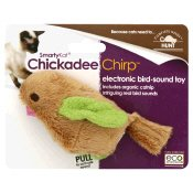 SMARTYKAT CHICKADEE CHIRP BIRD SOUND CATNIP CAT TOY