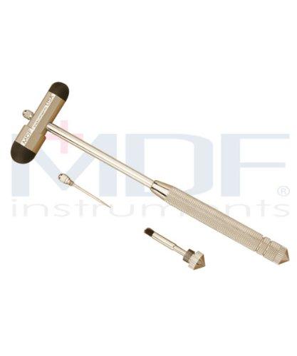 MDF Instruments MDF515BT11 Babinski Buck Reflex Hammer -Black