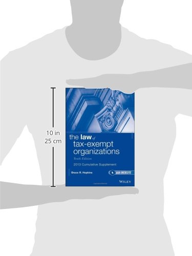 The Law of Tax-Exempt Organizations Cumulative Supplement