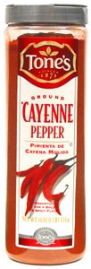 Tone&#8217;s Spices Ground Cayenne Pepper (16 oz.)
