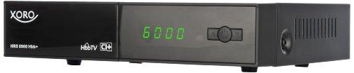 Xoro HRS 8900 Hbb+  Digitaler Satelliten-Receiver (HDTV, DVB-S2, CI/CI+, Hbb-TV + Xoro TV-Portal,LAN, HDMI, PVR-Ready, USB 2.0) schwarz