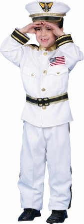 Costumes For All Occasions Up229Lg Navy Admiral Large 12-14