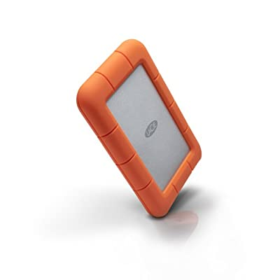 LaCie Rugged 500 GB USB 3.0 Mini Disk Portable Hard Drive