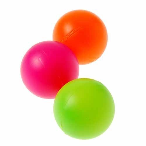 Dozen Assorted Color Plastic Ping Pong Balls - 1.57 Model:
