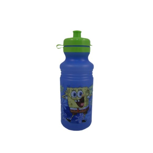 18oz Nickelodeon SpongeBob Active Sports Bike Water Bottle