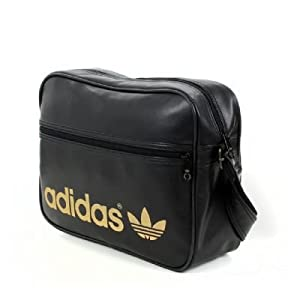 Sacoche Bandouliere Airline Noir Or - Unisexe - ADIDAS HERITAGE