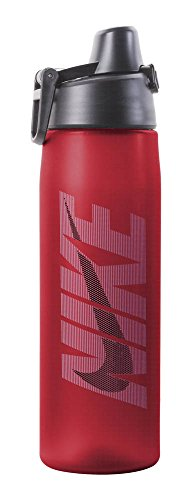 Nike Core Hydro Flow Graphic Water Bottle (24oz, Sport Red/University Blue/Dark Obsidian) (Nike Flow Water Bottle compare prices)
