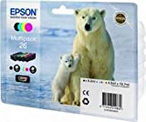 Epson C13T26164010 - 26 Multipack - 4-pack - black, yellow, cyan, magenta - original - ink cartridge - for Expression Premium XP-510, XP-600, XP-605, XP-700, XP-800