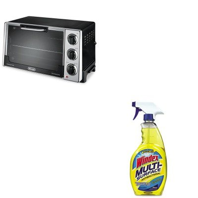 Kitdloro2058Dracb701380 - Value Kit - Delonghi Convection Oven W/Rotisserie (Dloro2058) And Windex Antibacterial Multi-Surface Cleaner (Dracb701380)