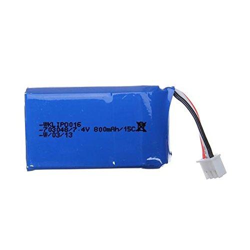 Bluelover 7.4V 800mAh 15C batteria per Walkera DEVO F7 Radio Control