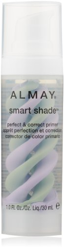 ALMAY Smart Shade Perfect and Correct Primer, Clear, 1 Fluid Ounce