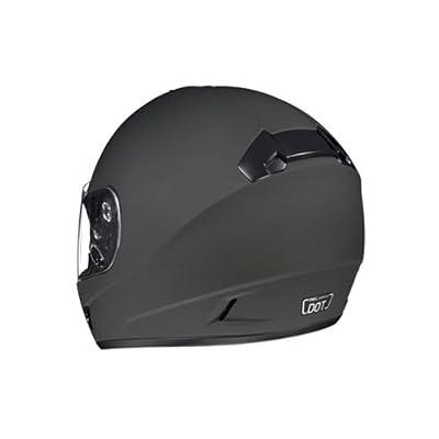 HJC CL-16 motorcycle helmet back view.