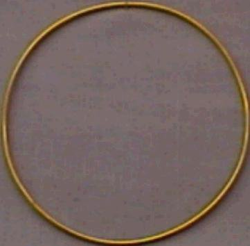 Darice Gold Metal Ring, 8-Inch primary